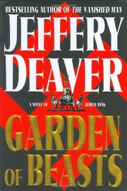 GARDEN OF BEASTS by Jeffery Deaver
