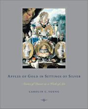 APPLES OF GOLD IN SETTINGS OF SILVER by Carolin C. Young