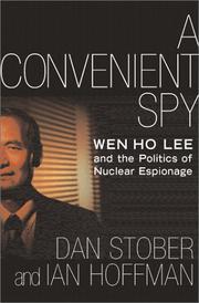 A CONVENIENT SPY by Dan Stober