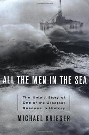 ALL THE MEN IN THE SEA by Michael Krieger