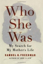 Cover art for WHO SHE WAS