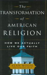 Cover art for THE TRANSFORMATION OF AMERICAN RELIGION