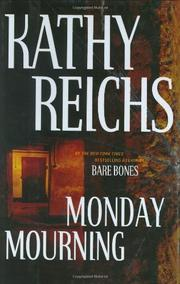 Book Cover for MONDAY MOURNING