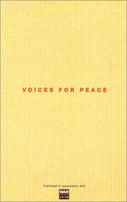 VOICES FOR PEACE by Anna Kiernan