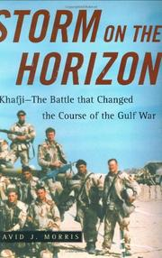 STORM ON THE HORIZON by David J. Morris