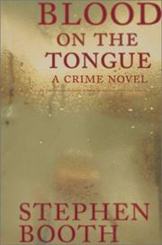 Cover art for BLOOD ON THE TONGUE