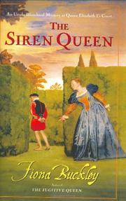 THE SIREN QUEEN by Fiona Buckley