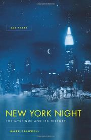 NEW YORK NIGHT by Mark Caldwell