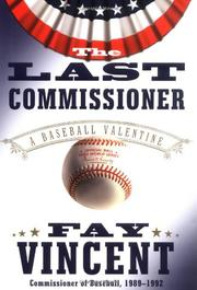 Cover art for THE LAST COMMISSIONER