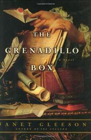 THE GRENADILLO BOX by Janet Gleeson