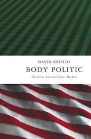 Book Cover for BODY POLITIC