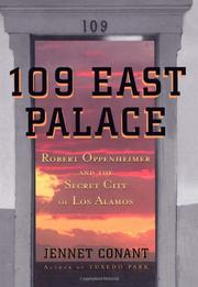 109 EAST PALACE by Jennet Conant
