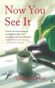 NOW YOU SEE IT by Allison Lynn