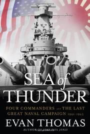 Book Cover for SEA OF THUNDER