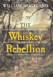 Cover art for THE WHISKEY REBELLION