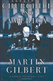 Cover art for CHURCHILL AND AMERICA