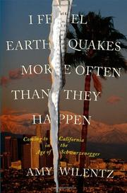 Cover art for I FEEL EARTHQUAKES MORE OFTEN THAN THEY HAPPEN