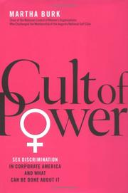 CULT OF POWER by Martha Burk