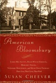 Cover art for AMERICAN BLOOMSBURY