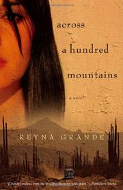Cover art for ACROSS A HUNDRED MOUNTAINS