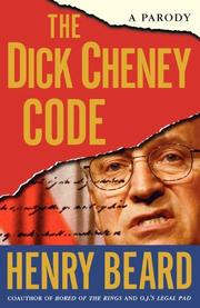 Cover art for THE DICK CHENEY CODE