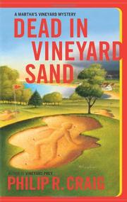 DEAD IN VINEYARD SAND by Philip R. Craig