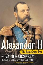 Cover art for ALEXANDER II