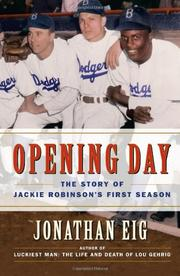 Cover art for OPENING DAY