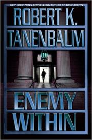ENEMY WITHIN by Robert K. Tanenbaum