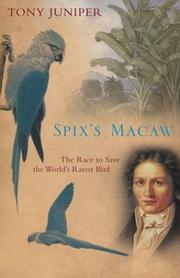 SPIX'S MACAW by Tony Juniper