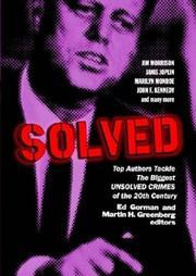 SOLVED by Ed & Martin H. Greenberg--Eds. Gorman