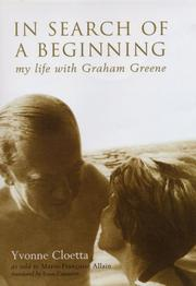 IN SEARCH OF A BEGINNING by Yvonne Cloetta