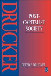 Book Cover for POST-CAPITALIST SOCIETY