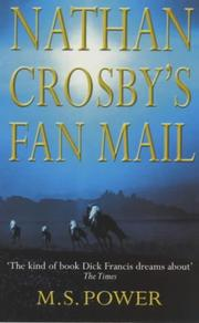 NATHAN CROSBY'S FAN MAIL by M.S. Power