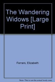 THE WANDERING WIDOWS by E.X. Ferrars