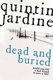 Cover art for DEAD AND BURIED