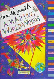 BRIAN WILDSMITH'S AMAZING WORLD OF WORDS by Brian Wildsmith