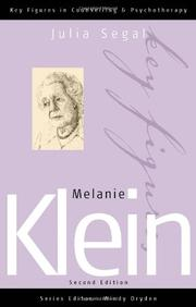 MELANIE KLEIN by Hanna Segal