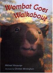 Cover art for WOMBAT GOES WALKABOUT
