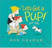 "Book Cover for ""LET'S GET A PUP!"" SAID KATE"