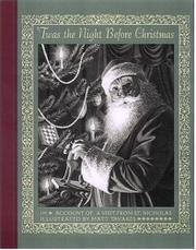 Book Cover for 'TWAS THE NIGHT BEFORE CHRISTMAS