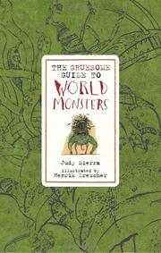 Cover art for THE GRUESOME GUIDE TO WORLD MONSTERS