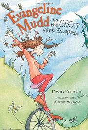 Cover art for EVANGELINA MUDD AND THE GREAT MINK ESCAPADE