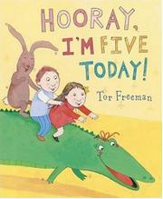 Cover art for HOORAY, I'M FIVE TODAY!