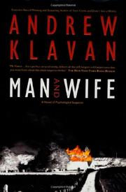 MAN AND WIFE by Andrew Klavan