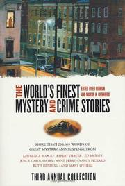 Cover art for THE WORLD'S FINEST MYSTERY AND CRIME STORIES