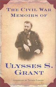 Book Cover for THE CIVIL WAR MEMOIRS OF ULYSSES S. GRANT