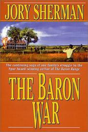 Cover art for THE BARON WAR
