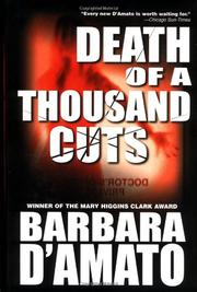 DEATH OF A THOUSAND CUTS by Barbara D'Amato