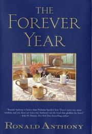 THE FOREVER YEAR by Ronald Anthony